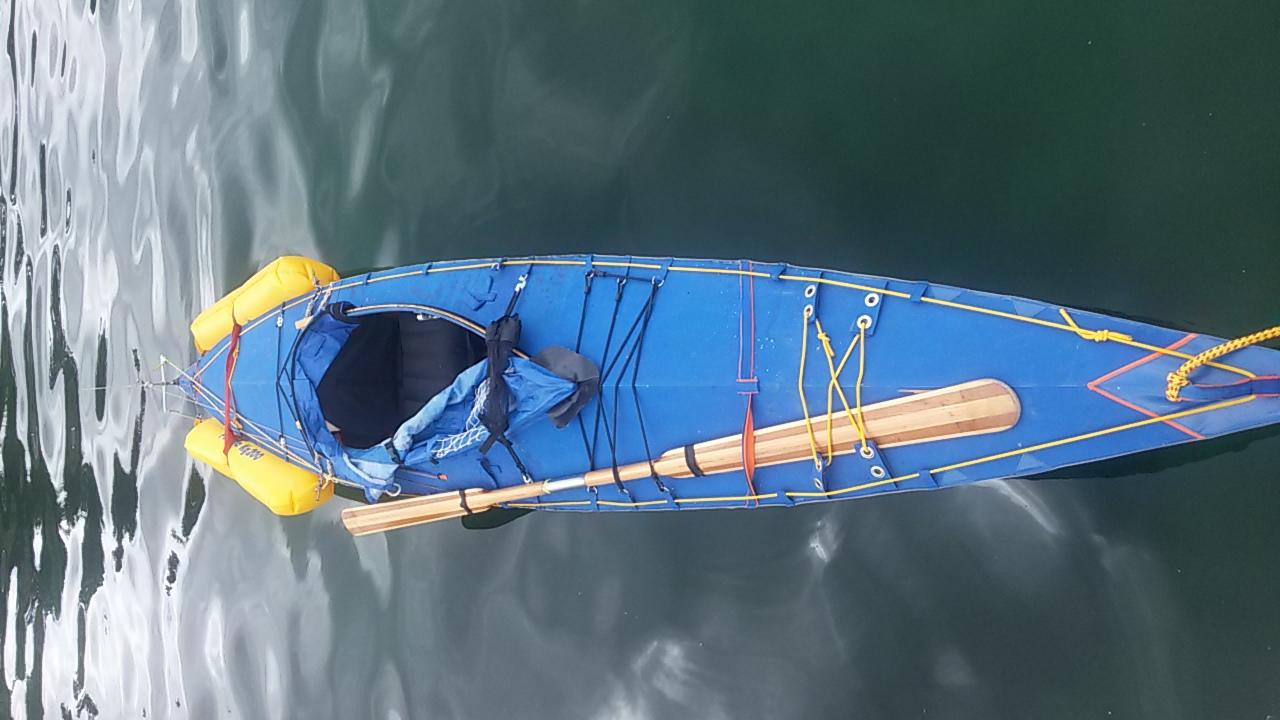 Kajak Wasser schwimmende Leben Linie Rettung werfen Seil Tasche